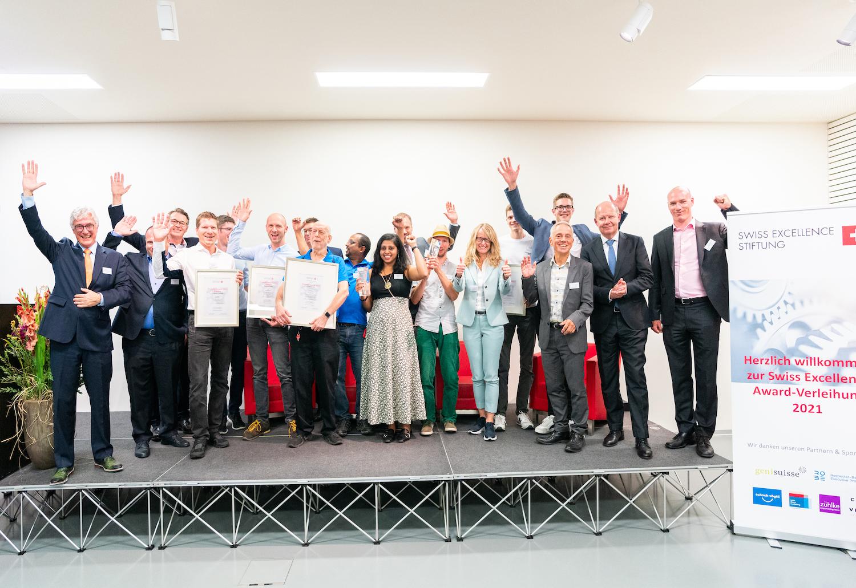 Herzliche Gratulation an die Finalisten und Gewinner 2021!